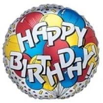 globo de cumpleaños de 9 pulgadas