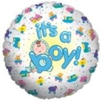 globo de niño de 18 pulgadas